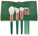 Emerald Artistry Brush and Clutch Set
