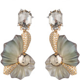 Alexis Bittar Crystal Encrusted Shell Clip Earring