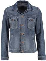 Wrangler Attack Regular Fit Denim Jacket Blue Denim