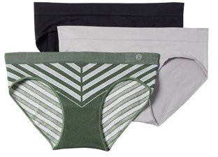 Layer 8 Women's Seamless Hipster Panties, 3-Pack