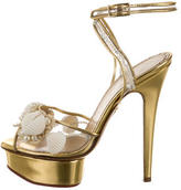 Charlotte Olympia Shell Platform Sandals