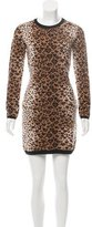 RED Valentino Patterned Sweater Dress w/ Tags