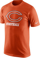 Nike Men's Chicago Bears Facility T-Shirt