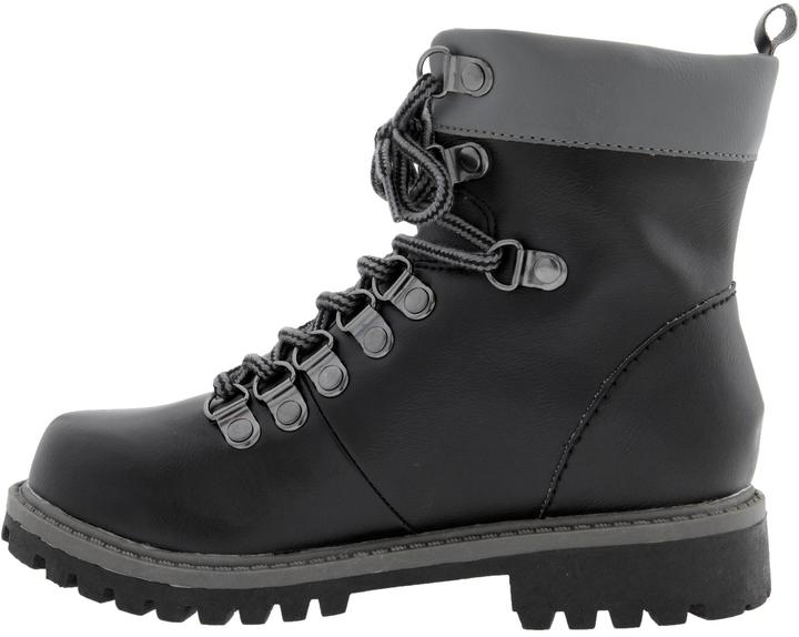 Old Navy Boys Faux-Leather Hiking Boots