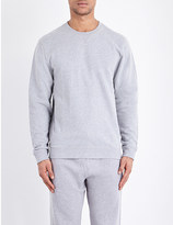 Sunspel Mouline loopback cotton-jersey sweatshirt