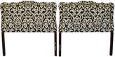 One Kings Lane Vintage Midcentury Upholstered Headboards, S/2