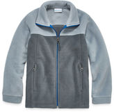 Columbia Zip-up Fleece Jacket- Boys Big Kid
