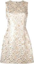 Dolce & Gabbana A-line brocade dress