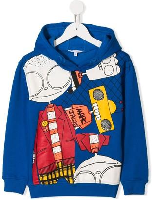 Little Marc Jacobs printed hoodie