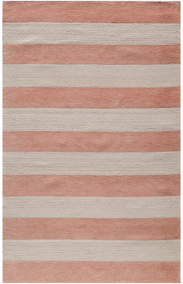 Momeni Lil Mo Classic Hand-Hooked Rug, Pink, 4'x6'