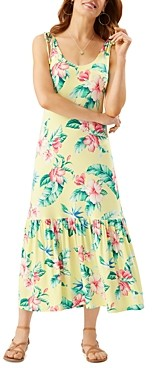 Tommy Bahama Floristic Approach Midi Dress