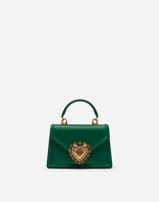 Dolce & Gabbana Small Smooth Calfskin Devotion Bag
