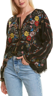 Johnny Was Cabo Blouse