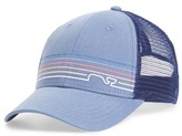 Vineyard Vines Men's Whaleine Trucker Cap - Blue