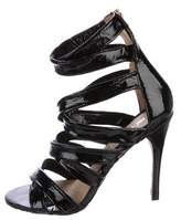 L.A.M.B. Cage Patent Leather Sandals