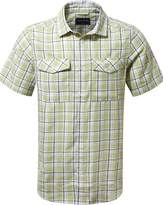 Craghoppers Men's Wensley Short Sleeved Checked Shirt