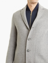 Acne Studios Grey Cashmere-blend 'charlie' Coat