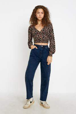 BDG Pax Dark Wash Jeans - blue 24W 30L at Urban Outfitters