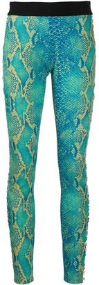 Just Cavalli Snakeskin Print Trousers