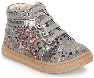 GBB NAVETTE girls's Shoes (High-top Trainers) in Grey
