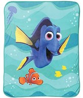 "Disney/Pixar Finding Dory Stingray Friends Silk Touch Plush Throw, 46"" x 60 """