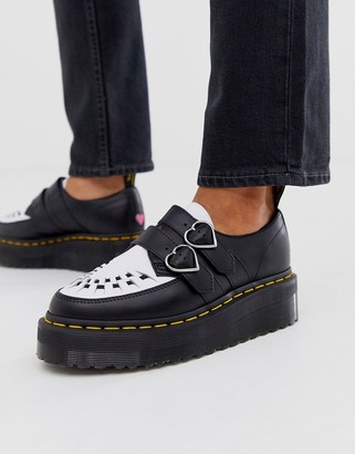 Dr. Martens x Lazy Oaf Creeper chunky Shoe in black