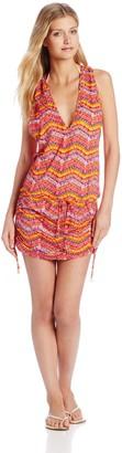 Luli Fama Women's Ron Y Paraiso T-Back Mini Dress