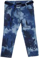 Miss Blumarine Denim pants - Item 42622234
