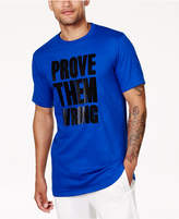 Sean John Men's Prove Them Wrong Graphic-Print T-Shirt