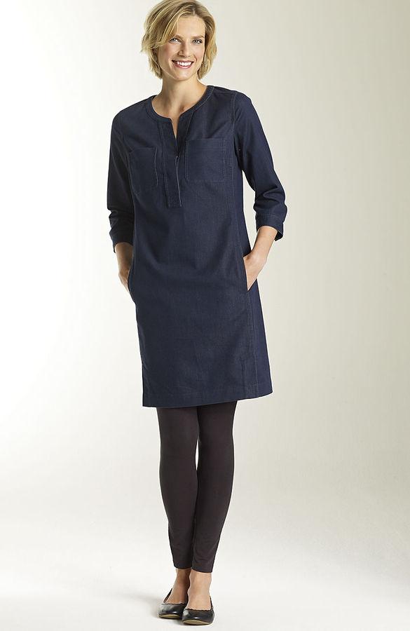 J. Jill Denim shirtdress