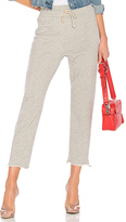 Mother High Waist Gym Snippet Sweatpant