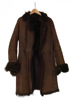 Ventcouvert Brown Mongolian Lamb Coats