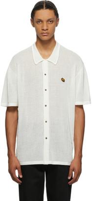 Double Rainbouu White Knit Shirt