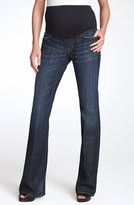 Citizens of Humanity Women's 'Kelly' Maternity Bootcut Stretch Jeans, Size 27 - Blue (New Pacific Blue)