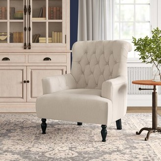 Three Posts Cletus Armchair Fabric: Beige