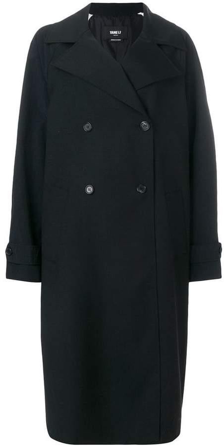 Yang Li double breasted coat