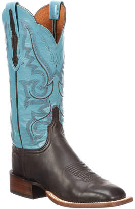 Lucchese Women's Horseman Style Leather Western Boot