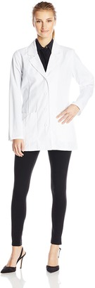 Dickies Women's 29 Inch Notched Collar Lab Coat