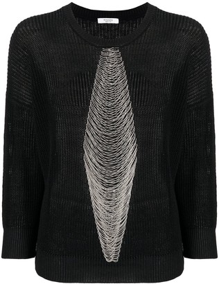 Peserico Delicate Chain Detail Jumper