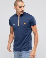 Ellesse T-Shirt With Zip