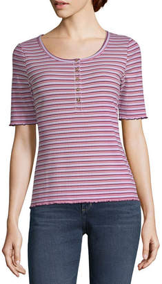 A.N.A Button Front Tee - Tall