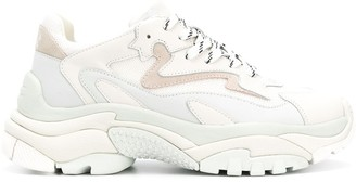 Ash Ridged-Sole Chunky Sneakers