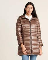Calvin Klein Petite Hooded Packable Down Jacket