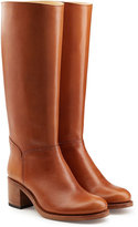 A.P.C. Leather Knee Boots