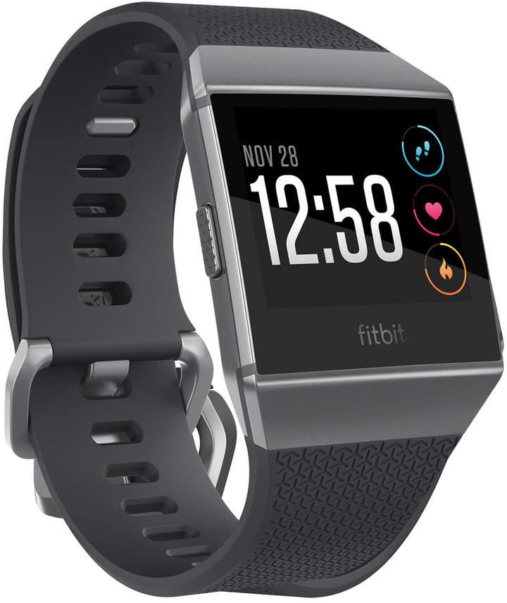Fitbit Ionic Smart Fitness Watch - Charcoal / Smoke Grey