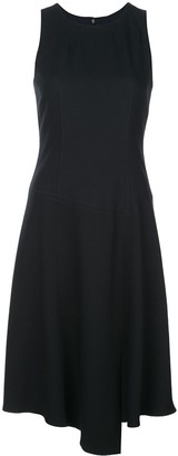 Veronica Beard Sleeveless Flared Dress