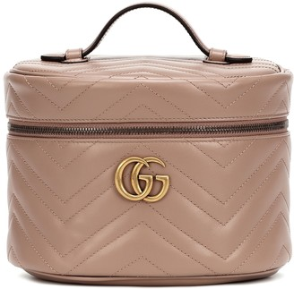 Gucci GG Marmont leather cosmetics case