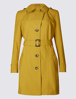 M&S Collection Trench Coat with StormwearTM