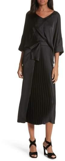 Rachel Comey Mure Satin Midi Dress
