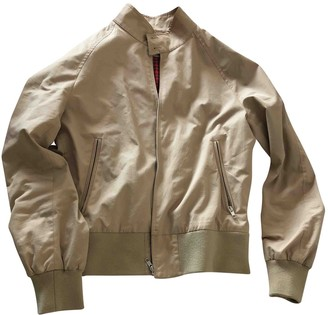Sandro Beige Cotton Jackets